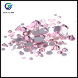 Faceted Flat Round Grade AA Glass Hotfix Rhinestone