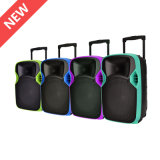 Factory Supply Plastic PA System Loudspeaker with LED Projector