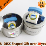 Advertising Promotion Gifts USB Flash Stick with Tin Box (YT-Telephone)