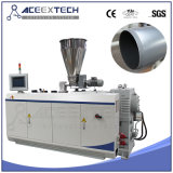Plastic Twin Screw PVC Extruder Pipe Production Extrusion Making Machine/UPVC CPVC Water&Drainage&Electric Conduit Tube Manufacturing Extruding Machine