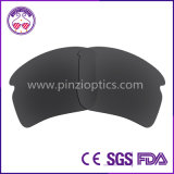 Sunglasses Lenses with Cutting Finished and Revo Mirror Coating for Flak