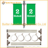 Metal Street Pole Advertising Banner Stand (BS-HS-008)