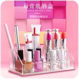 Home Fashion Desktop Dust Transparent Acrylic Lipstick Rack