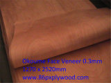 Cara /Back Veneer 0.3mm Veneer de Koume/Keruing/Bintangor/Birch/Pencil Ceder/Red Canarium/Walnut Veneers