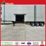 Truck 2/3 Axles 20-53FT Container Extendable Flat Bed Semi Trailer