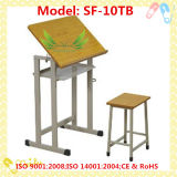 Wooden Children Drawing Table and Chair (SF-10TB)