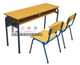 Double Student Desk and Chair (GT-48)