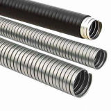 Stainless Steel Flexible Metal Conduits with Black PVC Coating