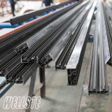 Aluminum U Shaped Channel for Baluster and Staircase Glass