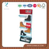Floor Metal Shoes Racks Shoes Retail Display