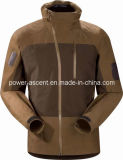 Men′s Outdoor Fashion Brown Wind-Proof Softshell Jackets (pH-J05)