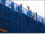 Green or Blue Fireproof Construction Safety Net