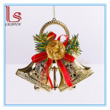 Christmas Tree Decorations 15 Cm Double Hang Bells Pendant