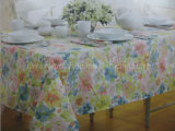 Transfer Printed Table Cloth