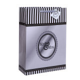 Silver Sparkling Love Wedding Gift Bags with Hang Tag