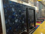 Wholesales Brazilian Semi-Precious Stone Black Agate Slab