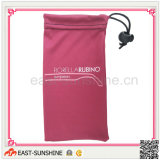Sunglasses Pouch/Bag, Microfiber with Logo (DH-M0074)