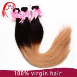 High Feedback Straight Hair Ombre Human Hair Weave