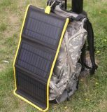 Factory Original Solar Mobile Phone Power Bank Charger 14W 5V 2000mA 800mA