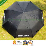 Automatic Three Fold Umbrella Golf Umbrella for Advertising (FU-3822BA)