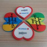 3D Soft PVC Heart Shape Fridge Magnets Collection