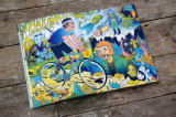 Cheap Comic Book Printing Full Color Softcover Book Saddle Stitching Binding