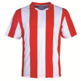 Custom Red White Sublimated Soccer Shirt for Your Team