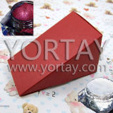 White & Red Pearlecent Paper Pigment for Wedding Sugar Box