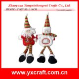 Christmas Decoration (ZY15Y152-1-2) Christmas Village Decoration Christmas Bottle Item Hot Products
