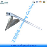 Cast Steel Plow Anchor with Hot Dipped Galvanizing