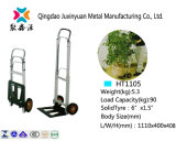 Foldable Aluminium Hand Truck/Handcart/Trolley with PU Caster (HT1105)