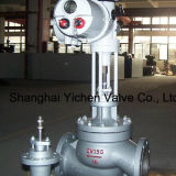 Rotork Actuator Globe Type Electric Sleeve Control Valve
