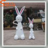Garden Kindergarten Decoration Artificial Crafts Rabbit Cartoon Sculptures