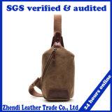 High Quality Men Cross Body Bag Canvas Chest Pack Sling Bag for Travel (006)