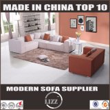 Modern Living Room Wooden Frame Fabric Sofa