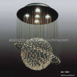 Bright Round Crystal Ceiling Lamp (AQ-1009)