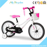 "16"" Pink Alloy Bicycle Kids City Training Wheels Bike for Girls"