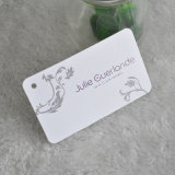 China Hangzhou White Paper Tag for Clothing