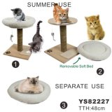 Natural Wholesale Cat Tree Scratching Post (YS82227)