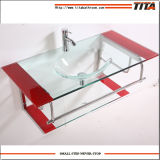 Bathroom Sinks Hand Wash Basin/Glass Sinks Bathroom/Glass Curio Cabinet T-1