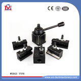 Quick Change Piston Type Tool Post and Tool Holders for Lathe Machine (wedge type)