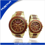 Two Tone Plating Stainless Steel Automatic Business Men's Watchwatch