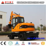 New Hight Quality Yanmar Engine 8t Wheel Excavator Cheap Price