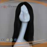 Human Hair Block Color Natural Straight Lace Wig (PPG-l-0665)