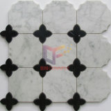 Marble Made Water-Jet Cutting Mosaic Tile (CFW72)