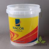 Round Transparent Plastic Bucket 20 Liter