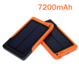 7200mAh Solar Power Bank / Emergency Charger for Mobile Phone
