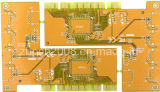 Gold Finger 4layers Yellow Mask PCB Board
