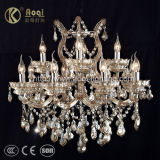 Grace Crystal Candle Chandelier Lamp (AQ50039-8+4+1)