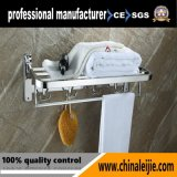 Pure 304 Stainless Steel Folding Towel Rack Bathroom Accessory